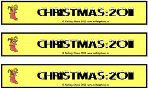 Christmas Bookmark 04