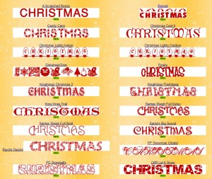 Christmas Fonts « Christmas Resources for Teachers – Nollaig Shona ...
