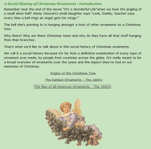 A Social History of Christmas Ornaments