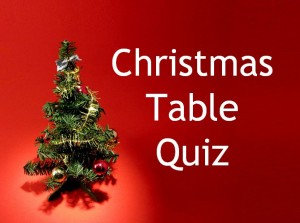 Christmas Table Quiz 01