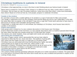 Customs in Ireland