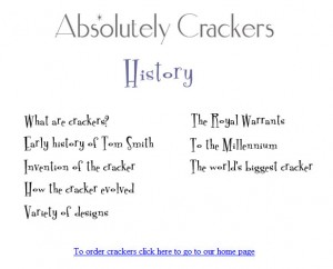 The History of Crackers