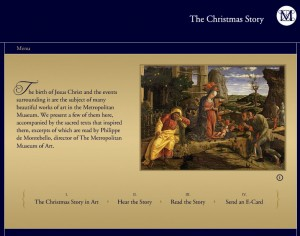 The Christmas Story from the Metropolitan Museum of Art