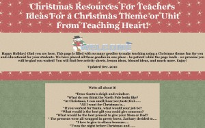 Teaching Heart Christmas