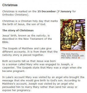 BBC History of Christmas