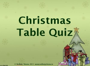 Christmas Table Quiz 02