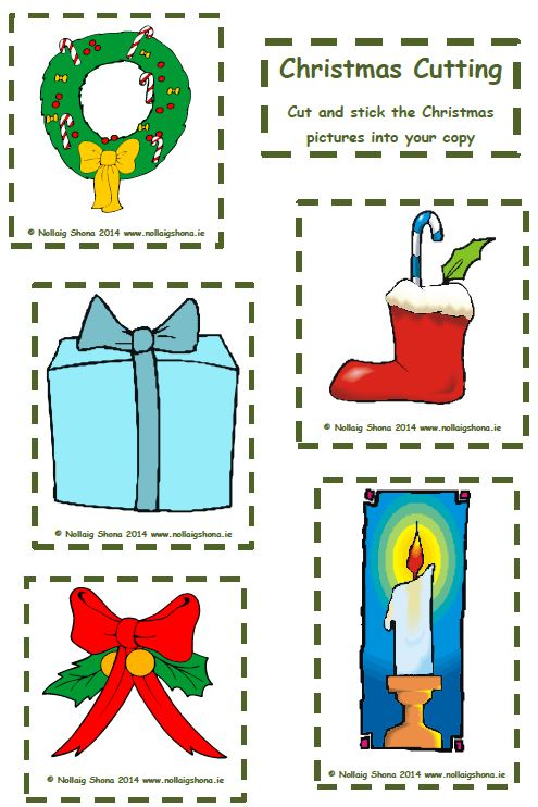 Worksheet « Christmas Resources for Teachers – Nollaig Shona from ...