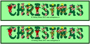 Christmas Bookmark 06