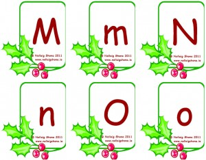 Snap Cards Letters