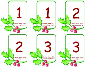 Snap Cards Numbers
