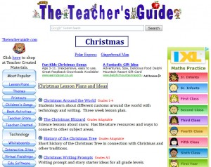 Teacher's Guide Christmas Resources