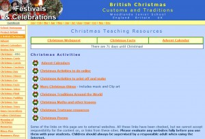 Woodlands Christmas Resources